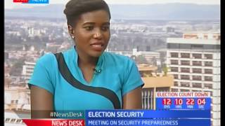 Election Security: Meeting on security preparedness