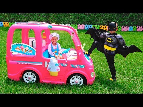 Nikita and his Pink car - Children's adventures