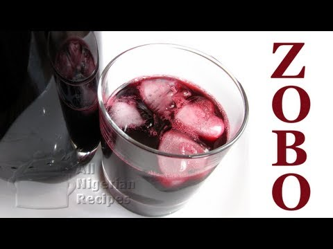 Video How to Make Zobo Drink (Roselle or Sorrel Drink) | All Nigerian Recipes