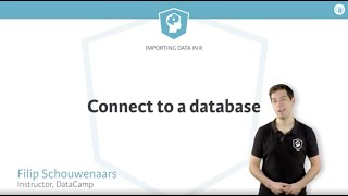 R tutorial: connecting to a database