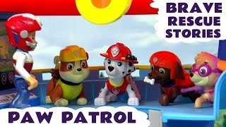 Paw Patrol Brave Rescues with Thomas & Friends and Minions   Peppa Pig and Scooby Doo Episodes