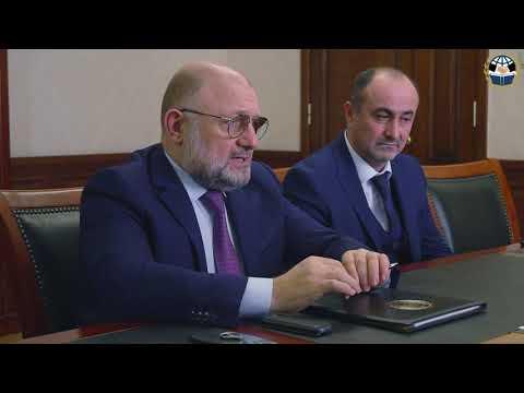 Джамбулат Умаров провел рабочую встречу с уполномоченным по правам человека в ЧР Нурди Нухажиевым