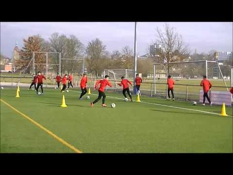 Fußball-Technik-Endlosschleife: Fußballspezifisches Ausdauertraining