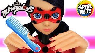 Miraculous Ladybug FRISIERKOPF - Superheldin Haare stylen & Nägel lackieren | Deluxe Styling Head