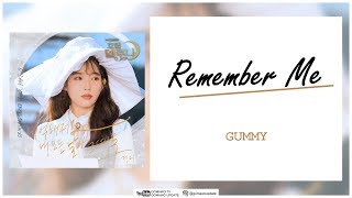 GUMMY - Remember Me (OST Hotel Del Luna Part 7) Easy Lyrics + Indo Sub by GOMAWO