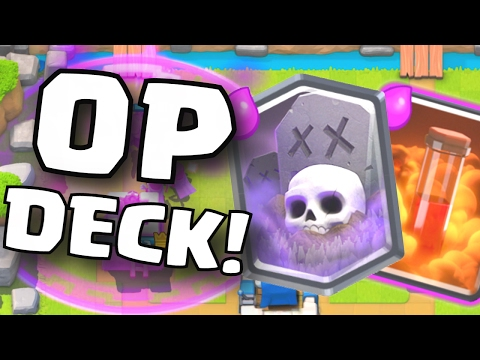 NEW UNDEFEATED GRAVEYARD POISON DECK STRATEGY   Clash Royale BEST TRIFECTA DECK STRATEGY NEW UPDATE