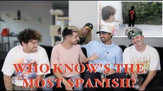 Testing Our Spanish Skills W/ JC Caylen, Crawford, Oscar Guerra