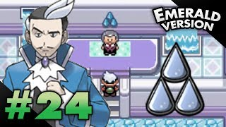 Let's Play Pokemon: Emerald - Part 24 - Sootopolis Gym Leader Juan