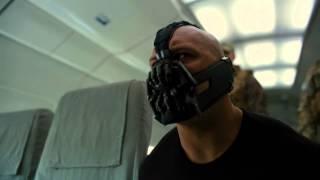 The Dark Knight Rises - Plane Hijack Scene