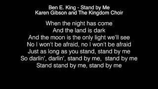 Karen Gibson and The Kingdom Choir - Stand by Me Lyrics (Ben E  King) The Royal Wedding