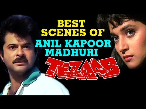 Best Scenes in Movies Bollywood   Anil Kapoor, Madhuri Dixit   Tezaab   Jukebox