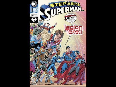 Superman #15 Legion of superheroes offer superboy review/rant