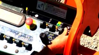 How to Operate the JLG Boom Lift Drive Orientation System