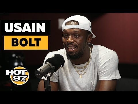 Usain Bolt Addresses Why He Stopped Running Track, & Co-Signing New Athletes + New Venture!
