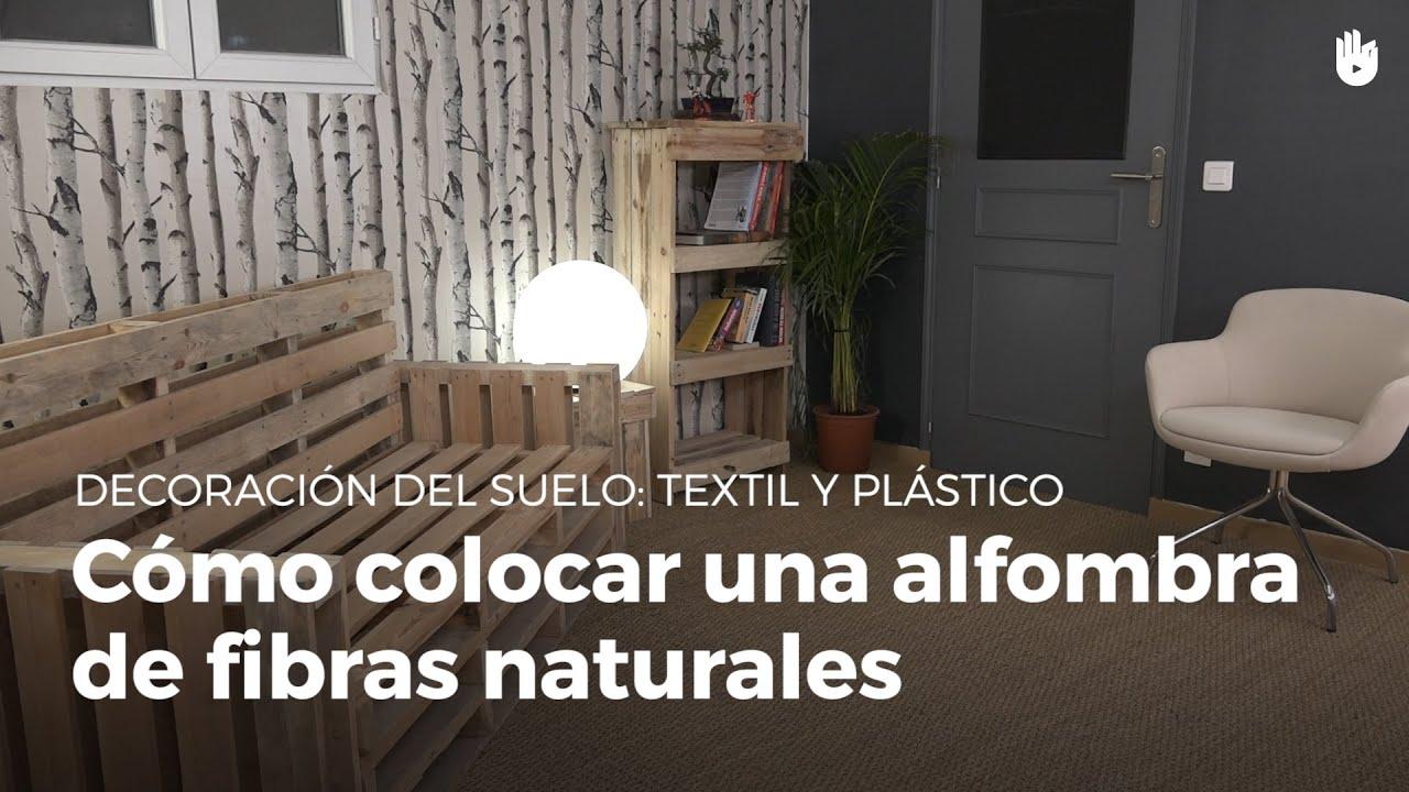 C mo colocar una alfombra de fibras naturales diy - Alfombras de fibras naturales ...