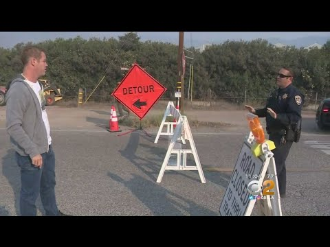 Santa Barbara Co. Evacuates Several Areas As Thomas Fire Continues To Grow