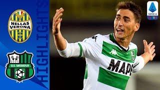 Hellas Verona 0-1 Sassuolo | Đuričić's piledriver proves the difference! | Serie A