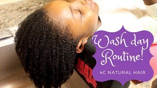 Natural hair kids: Updated hair care routine for growth| 4C natural hair