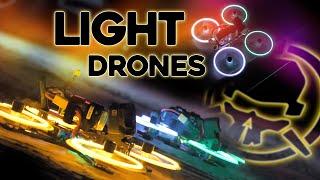 LED Drone Blades!