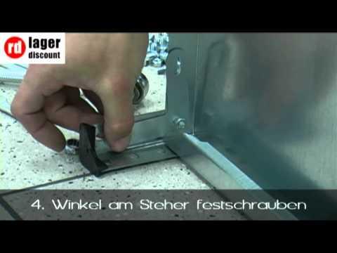 Schraubregal JULA 650V - Kellerregal - Werkstattregal verzinkt