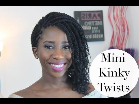 HOW TO GET MINI KINKY TWISTS | AdannaDavid