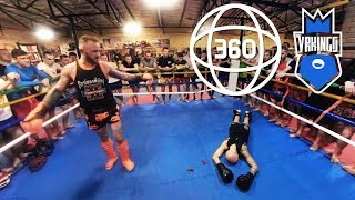 BLOODY SPORT! Muay thai fight in VR • 360 VR Video (#VRKINGS)
