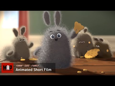 "CGI 3D Animated Short Film ""DUST BUDDIES""- Funny & Cute Animation By Ringling College"
