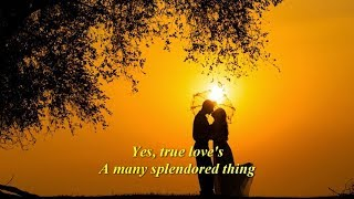 Love Is A Many Splendored Thing  (1962)  -  ANDY WILLIAMS  -  Lyrics