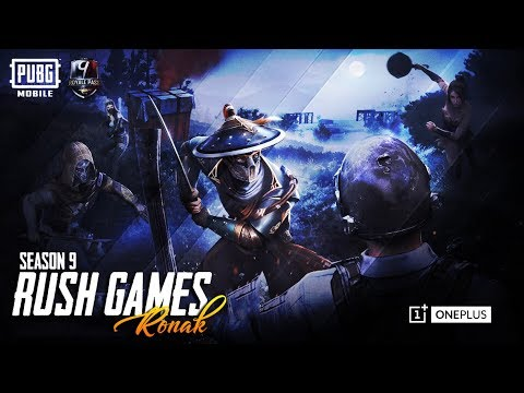 Season 9 Rank Push Rush Game play Let's GO!!!! | Jai Hind | PUBGMOBILE! | Powered by Oneplus!
