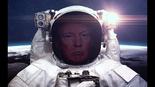 BREAKING: President Donald Trump Orders NASA to Return to Moon to Lay Foundations for Mars Trip
