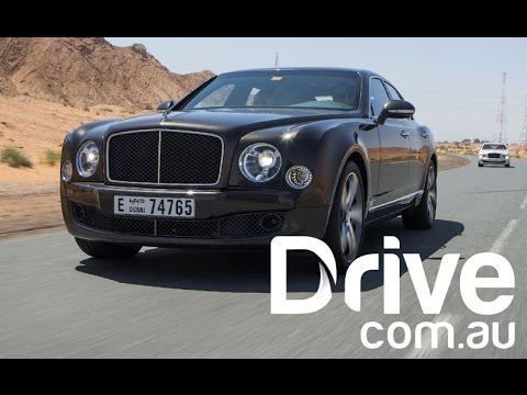 Bentley Mulsanne Speed First Drive Review | Drive.com.au