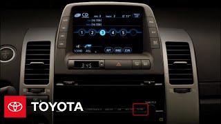 2009 Prius How-To: Audio system Controls | Toyota