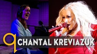 Chantal Kreviazuk does her best Christina Aguilera impression