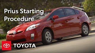 2010 Prius How-To: Starting Procedure   Toyota