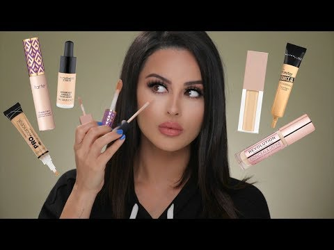 BEST FULL COVERAGE DRUGSTORE & HIGHEND CONCEALERS