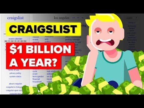 How Does Craigslist Make $1 Billion a Year?