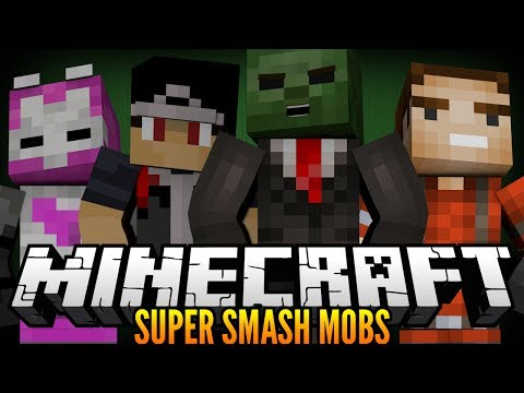 Minecraft Super Smash Mobs Ep. 1- Eat Mah Meat!