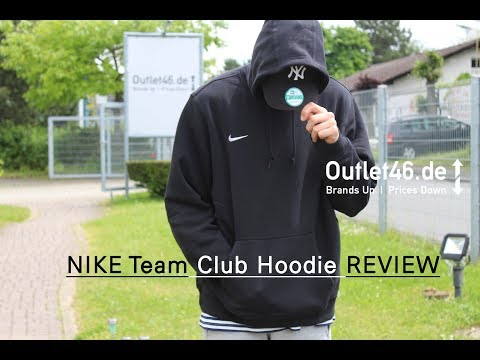Nike Team Club Hoodie DEUTSCH l Review l On Body l Haul l Overview l Outlet46