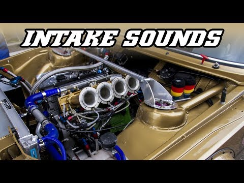 Best intake sounds ever (E30 M3, 406 STW, 412 T2, 787B, Escort RS2000, )
