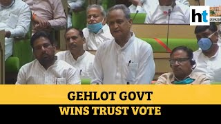 Conspiracy failed…: Gehlot-led Rajasthan govt wins trust vote in assembly - Download this Video in MP3, M4A, WEBM, MP4, 3GP