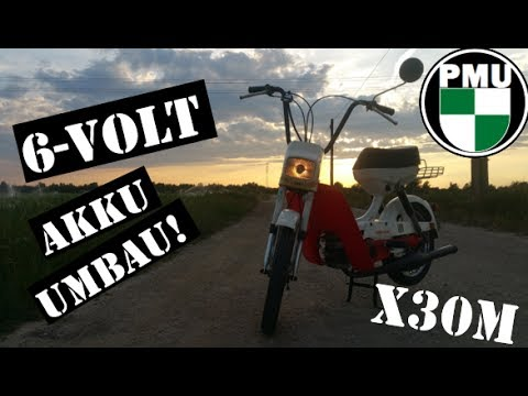 6-Volt Akku Umbau für Lichtanlage