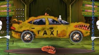 Taxi Car Garage   Halloween Car Video For Preschool Kids By Kids Channel