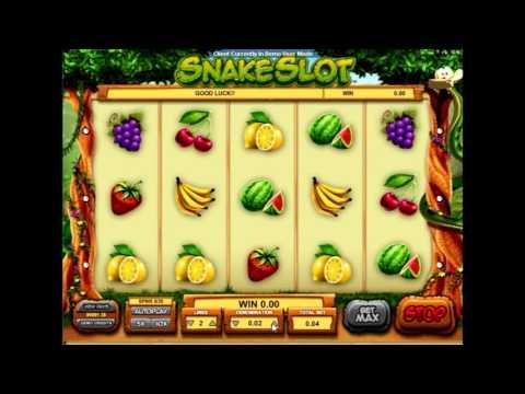 Обзор игрового автомата  Змеиный слот (snake slot) - характеристики и правила