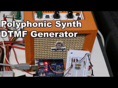 Arduino Polyphonic Sound Synthesis - 8-bit Music and DTMF