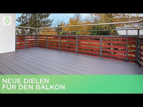 Neue WPC-Dielen für den Balkon verlegen | Renovieren mit Elmar