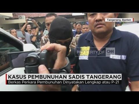 Tersangka Pembunuhan Sadis Tangerang Dititipkan di Lapas Anak