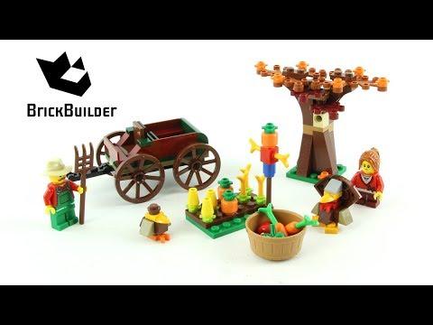 Lego Seasonal Thanksgiving Harvest 40261 - Lego Speed Build