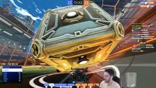 MOVE THE MOUNTAIN | Rocket League 4v4 Game Mode