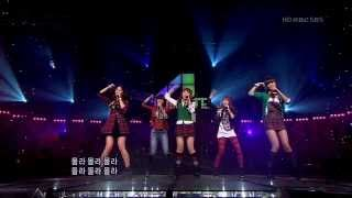 [HD 720p] 091101.포미닛 (4Minute) - What a Girl Wants