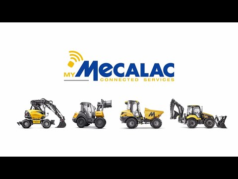 MyMecalac Connected Services